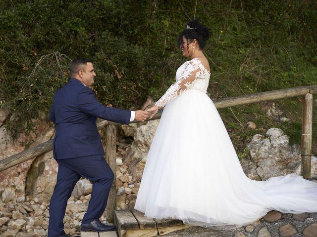 La boda de Stefania y Adrian en La Belga (Viella-siero), Asturias 31