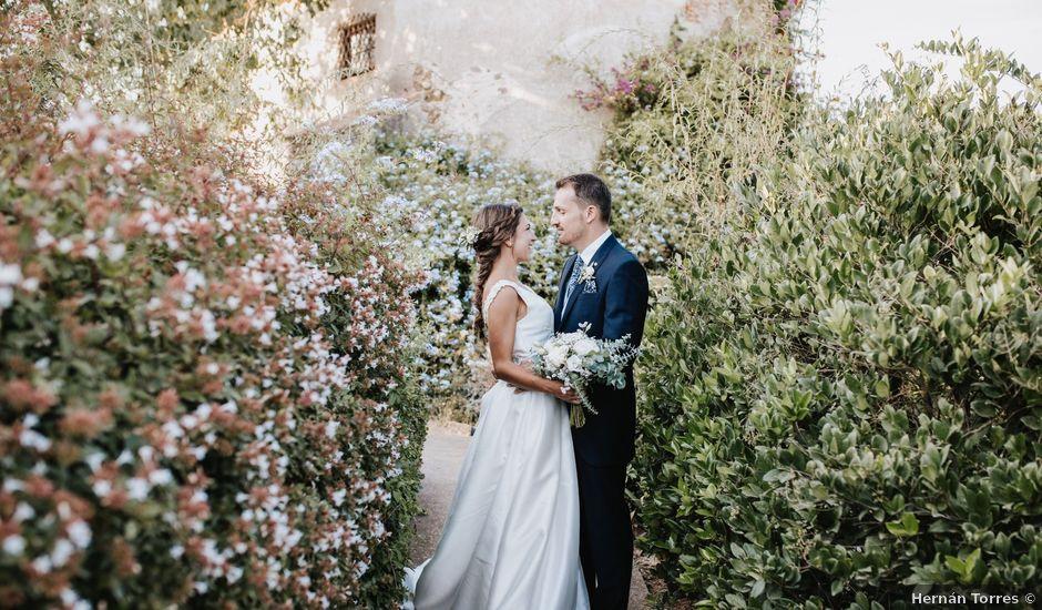 La boda de Marc y Vanesa en La Bisbal d'Empordà, Girona