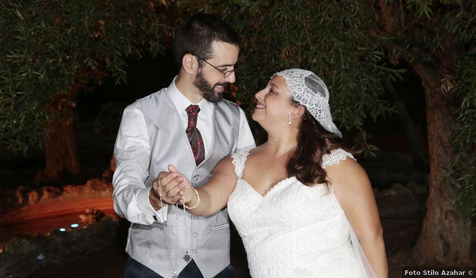 La boda de Vicky y Fran en Carmona, Sevilla