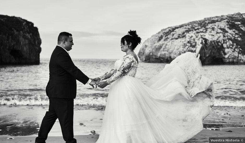 La boda de Stefania y Adrian en La Belga (Viella-siero), Asturias