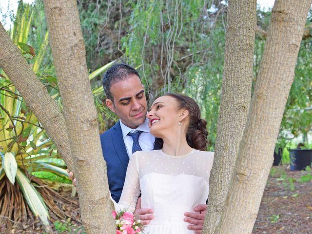 La boda de Fran y Hildamar en Tegueste, Santa Cruz de Tenerife 25