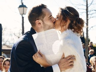 La boda de Juani y David