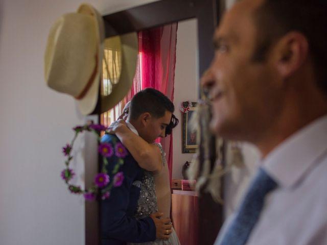 La boda de Ángel y Andrea en Purchil, Granada 15