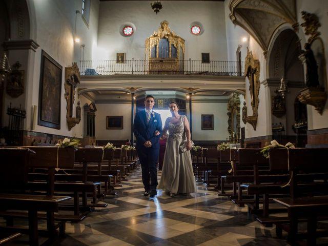 La boda de Ángel y Andrea en Purchil, Granada 20