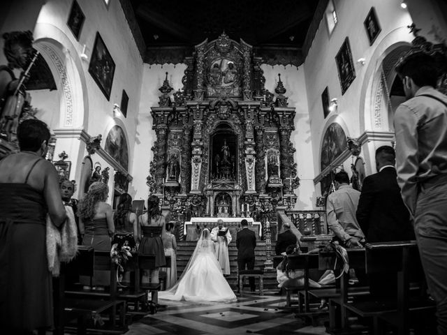 La boda de Ángel y Andrea en Purchil, Granada 1