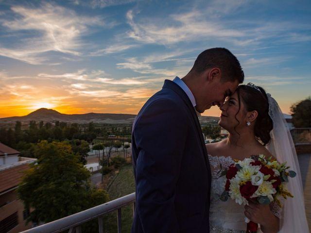 La boda de Ángel y Andrea en Purchil, Granada 26