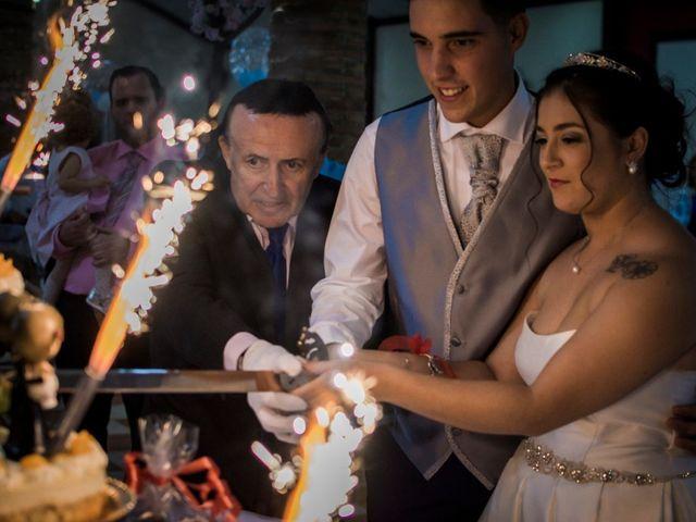 La boda de Ángel y Andrea en Purchil, Granada 41