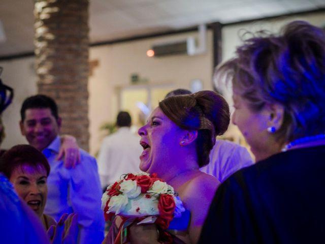 La boda de Ángel y Andrea en Purchil, Granada 46