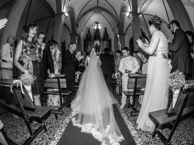La boda de Jony y Monica en Vilamartin De Valdeorras, Orense 42