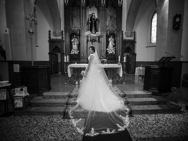 La boda de Jony y Monica en Vilamartin De Valdeorras, Orense 47