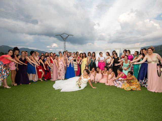 La boda de Jony y Monica en Vilamartin De Valdeorras, Orense 81