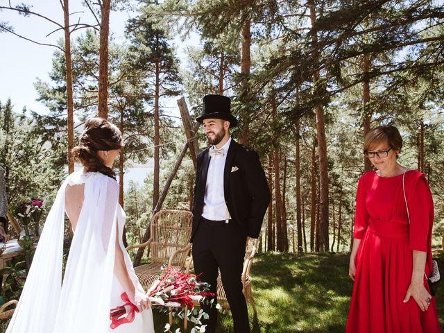 La boda de Álex y Pati en Rascafria, Madrid 64