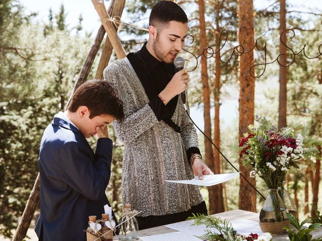 La boda de Álex y Pati en Rascafria, Madrid 67