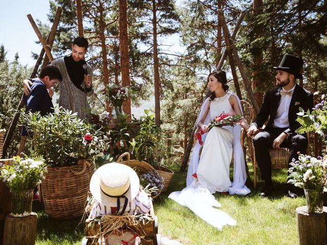 La boda de Álex y Pati en Rascafria, Madrid 1