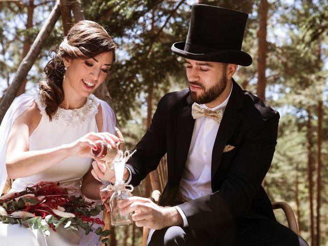 La boda de Álex y Pati en Rascafria, Madrid 76