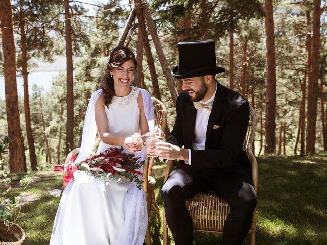La boda de Álex y Pati en Rascafria, Madrid 77