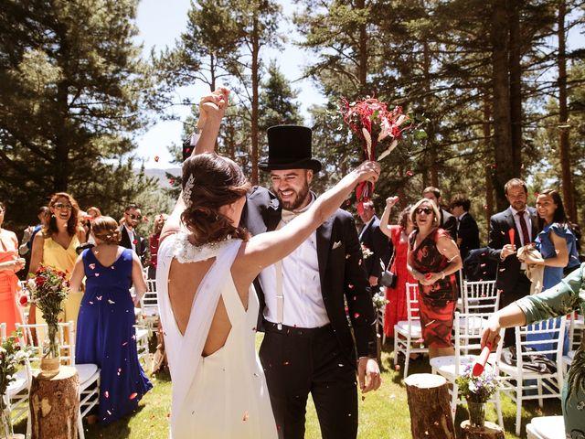 La boda de Álex y Pati en Rascafria, Madrid 85