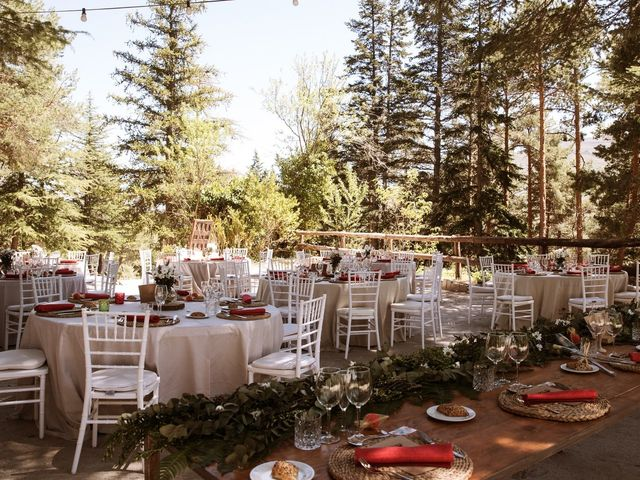 La boda de Álex y Pati en Rascafria, Madrid 122