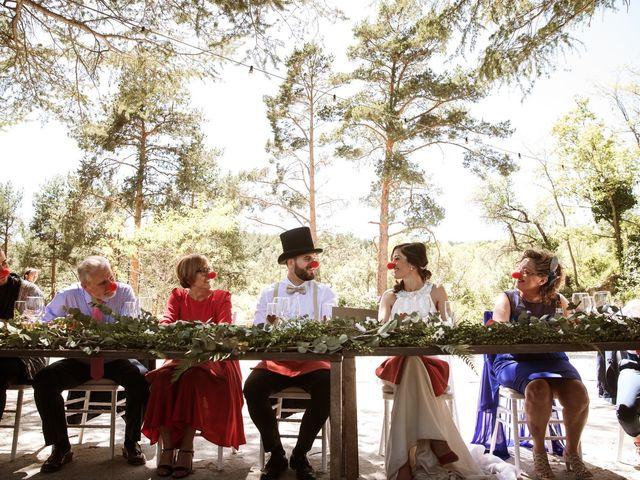 La boda de Álex y Pati en Rascafria, Madrid 2