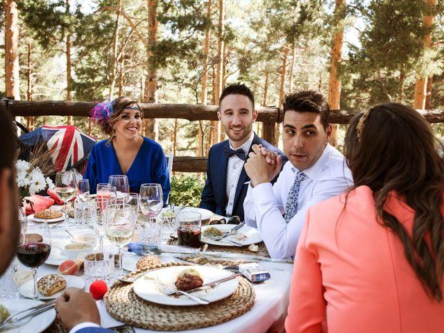 La boda de Álex y Pati en Rascafria, Madrid 136
