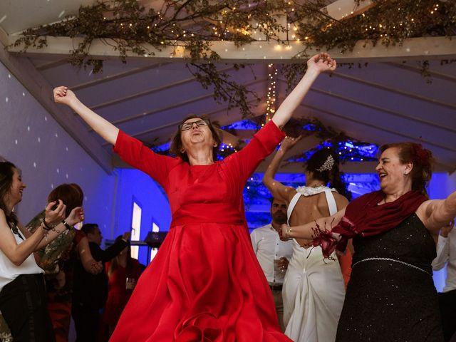 La boda de Álex y Pati en Rascafria, Madrid 164