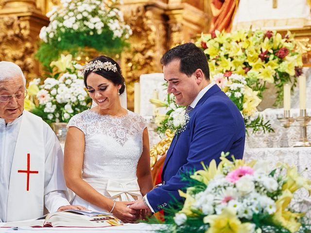 La boda de Sergio y Fatima en Higuera La Real, Badajoz 16