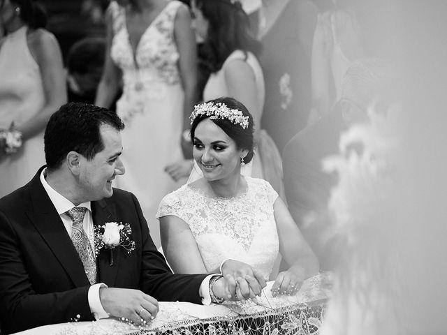 La boda de Sergio y Fatima en Higuera La Real, Badajoz 1