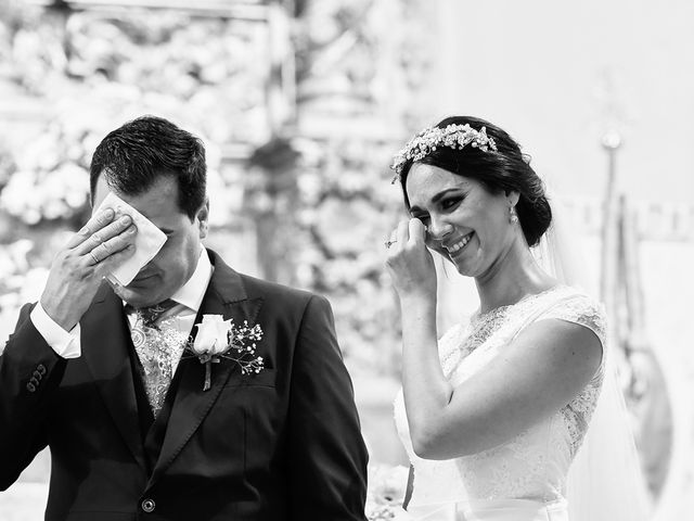 La boda de Sergio y Fatima en Higuera La Real, Badajoz 17