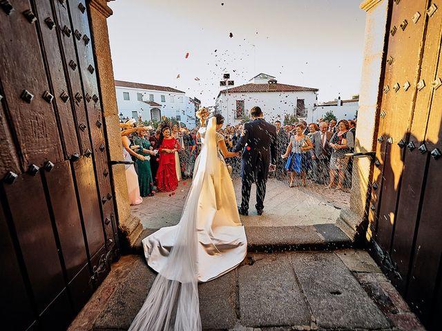La boda de Sergio y Fatima en Higuera La Real, Badajoz 18