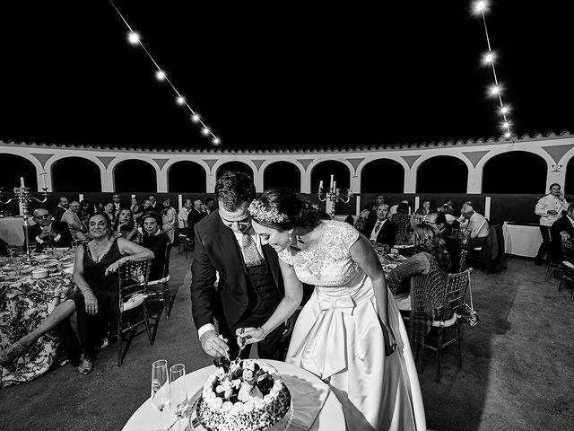 La boda de Sergio y Fatima en Higuera La Real, Badajoz 34