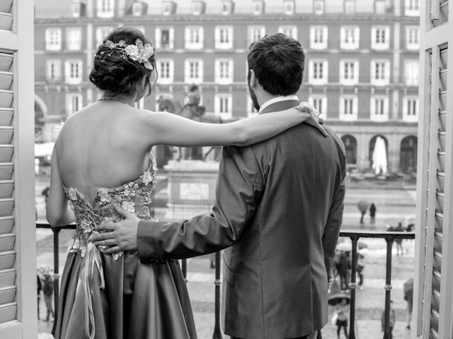 La boda de Alberto y Sandra en Madrid, Madrid 13