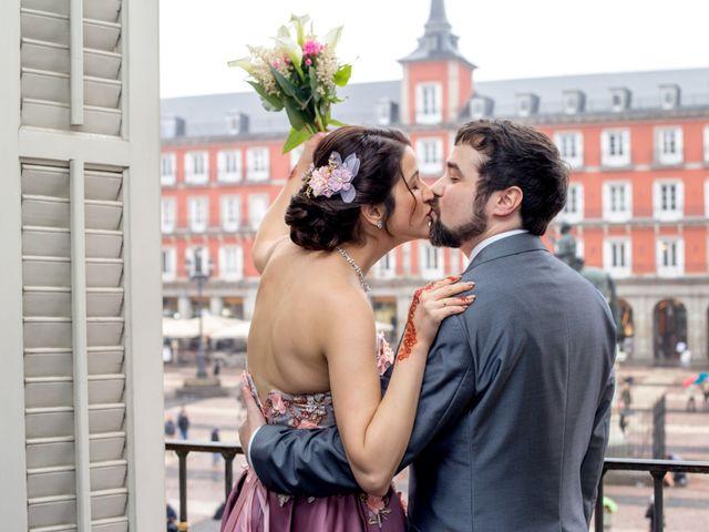 La boda de Alberto y Sandra en Madrid, Madrid 14