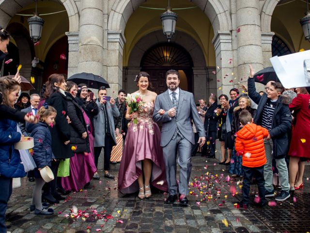 La boda de Alberto y Sandra en Madrid, Madrid 17