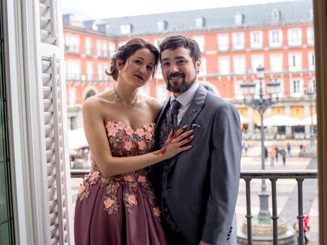 La boda de Alberto y Sandra en Madrid, Madrid 32