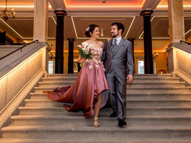 La boda de Alberto y Sandra en Madrid, Madrid 34
