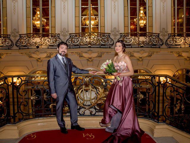 La boda de Alberto y Sandra en Madrid, Madrid 43