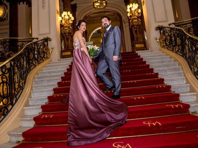 La boda de Alberto y Sandra en Madrid, Madrid 45