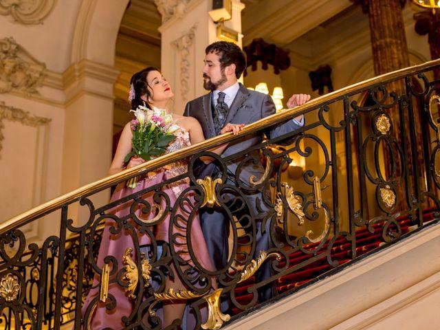 La boda de Alberto y Sandra en Madrid, Madrid 46