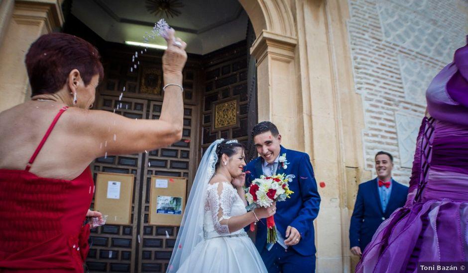 La boda de Ángel y Andrea en Purchil, Granada