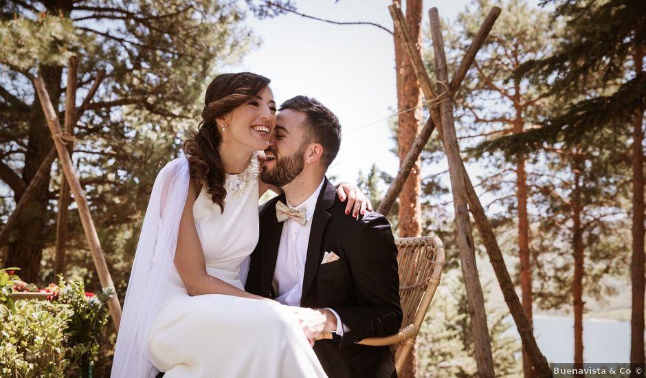 La boda de Álex y Pati en Rascafria, Madrid