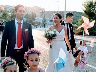 La boda de Andrea y  Salva