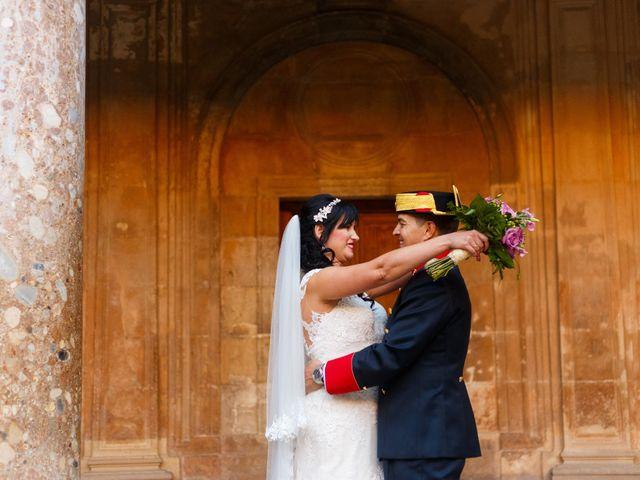La boda de Jose Manuel y Eva Mª en Granada, Granada 17