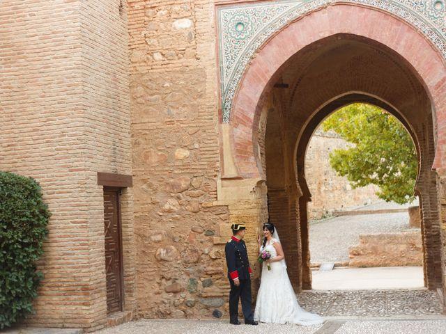 La boda de Jose Manuel y Eva Mª en Granada, Granada 18