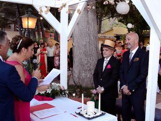 La boda de Mario y Salva