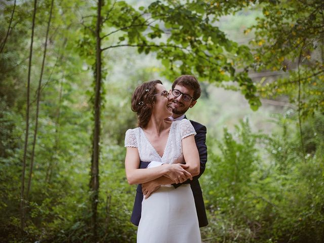 La boda de Helena y Camille