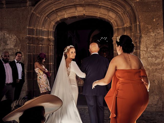 La boda de Francisco y Nieves en Valencia Del Ventoso, Badajoz 9