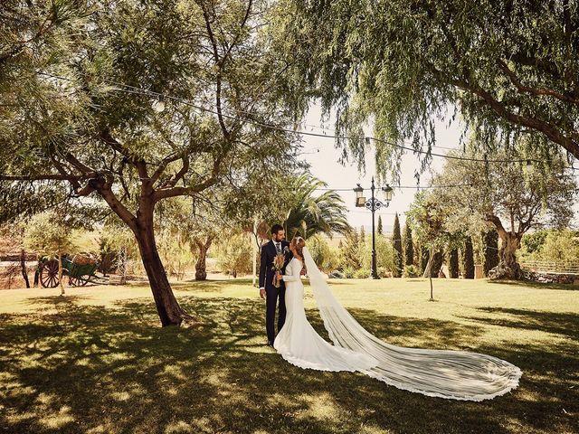 La boda de Francisco y Nieves en Valencia Del Ventoso, Badajoz 15
