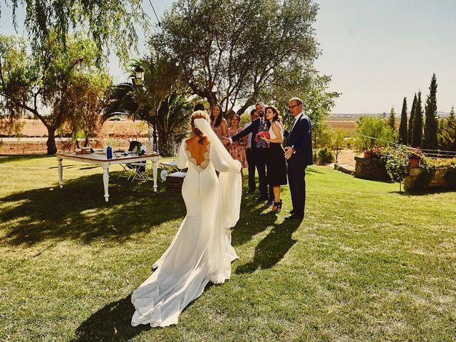 La boda de Francisco y Nieves en Valencia Del Ventoso, Badajoz 19