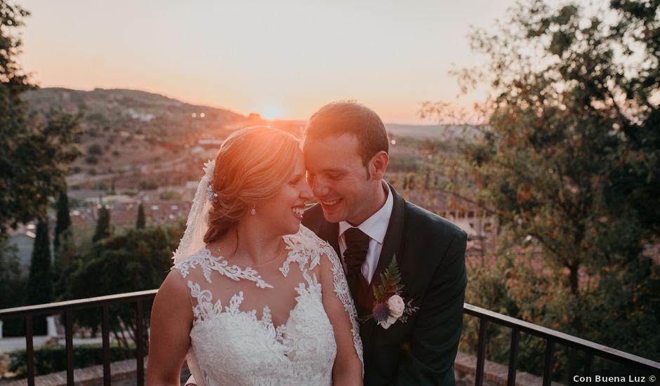 La boda de Félix y Irene en Burujón, Toledo