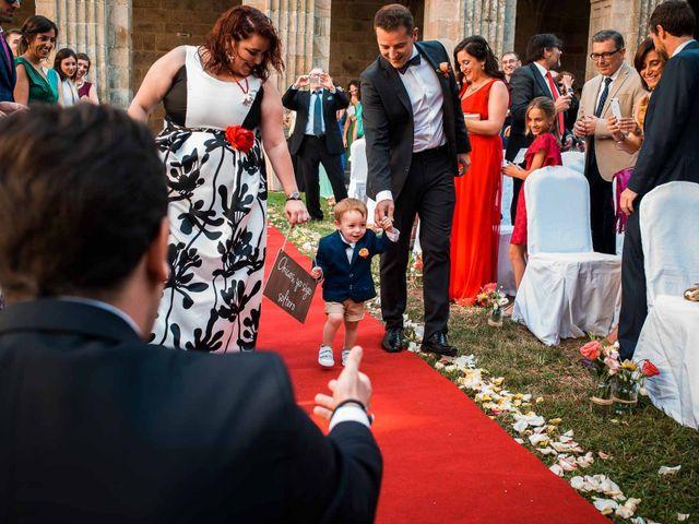 La boda de Jorge y Lorena en San Clodio, Orense 28